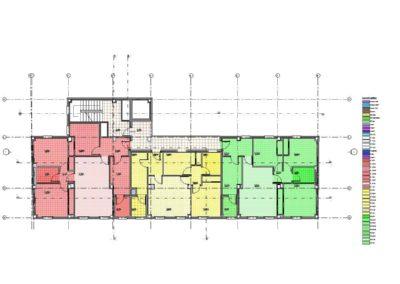 IVIMA - Lodosa 5 v4 2013 - Plano de planta - Nivel 1 COLORES