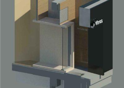 LCV 002 - Modelizado - 3D sección acceso R