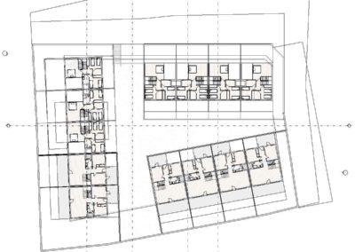 Proyecto 001 - Plano de planta - Nivel Alto