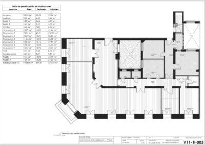 Velazquez 11 - 1 izda v02 - Plano - V11-1i-003 - Actual y Reformado